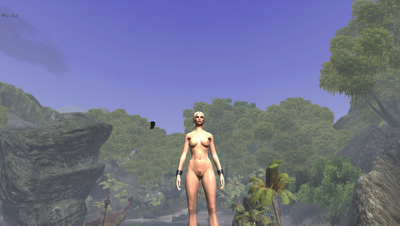 Clothed NPC Nude Patch Screenshots