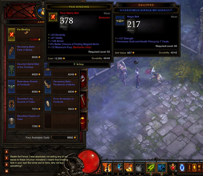 Endless Rare Items - Level 60 Merchant Trick - Diablo 3 Guide
